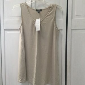 Eileen Fisher Tan Top - Size S- Brand New